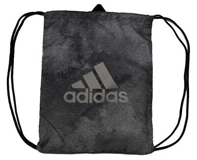 adidas Performance Turnbeutel Gym-bag Sportbeutel Grau Schwarz One Size Neu!