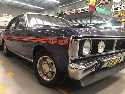 1971 Ford Xy Gt Replica 351 V8 Cleveland  C4 Trans 9Inch Diff Wow Gleaming
