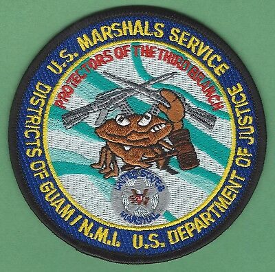 United States Marshal Service Guam-Northern Mariana Islands Police Patch
