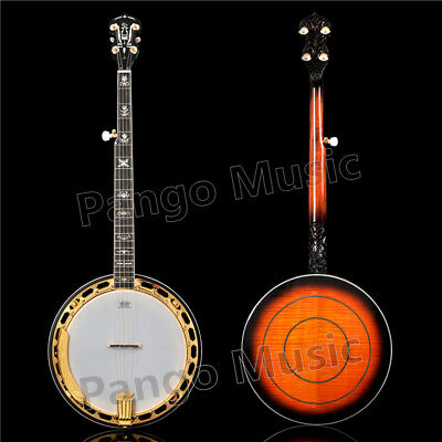 5 strings Gold color Banjo of Pango Music Banjo factory (PBJ-900)