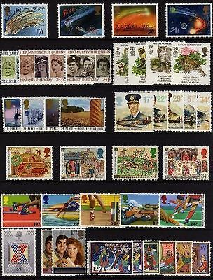 SG1308-1346 1986 GB COMMEMORATIVES YEAR SET Complete ~ 10 Sets Unmounted Mint.