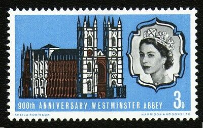 SG687p 1966 WESTMINSTER ABBEY PHOSPHOR Unmounted Mint