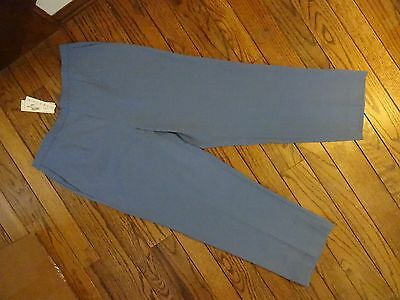 NWT  Alfred Dunner Lake Blue Stretch Pants     Size 18W Medium    $50.00