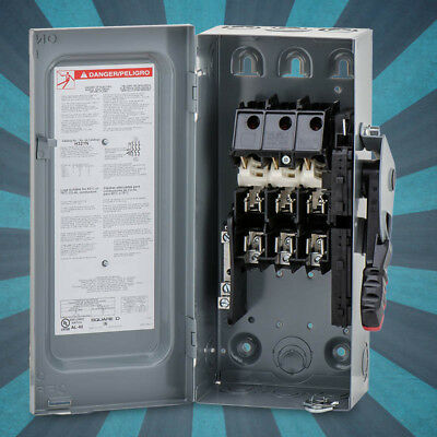 Schneider Electric / Square D H321N Heavy Duty Safety Switch