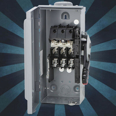 Schneider Electric / Square D H321NRB Heavy Duty Safety Switch