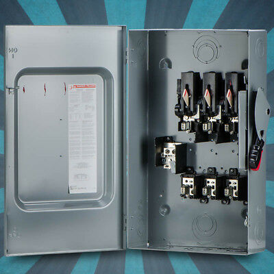 Schneider Electric / Square D H364N Heavy Duty Safety Switch