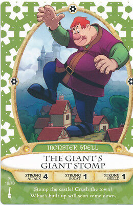 Sorcerer of the Magic Kingdom  card 19 The Giant's Giant Stomp