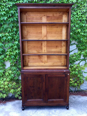 Elegant Bookcase in Mahogany from France - Restored (in progress)