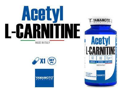 YAMAMOTO NUTRITION  Acetyl L-CARNITINE 1000mg 60 capsule- ACETIL CARNITINA