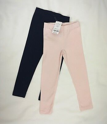 Carters Toddler Girls 2 Pack Knit Leggings Bottoms Pants Size 3T
