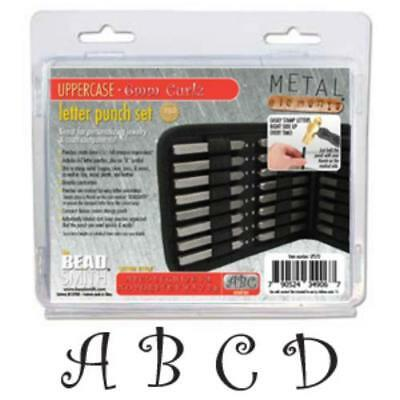 Beadsmith Metal Elements Stamping CHOOSE Alphabet, Letter, Punch Stamps