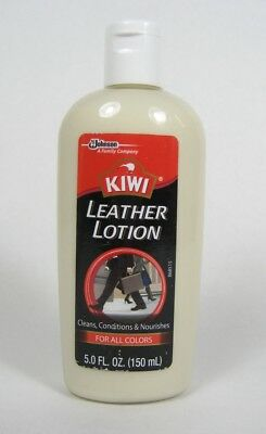KIWI Leather Lotion Cleans Conditions & Nourishes ALL COLORS 5.0 fl oz ~