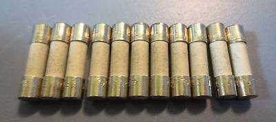 Lot of 11 Nordson 0.5 A Fuses Model 121047 New