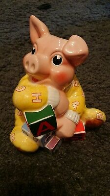 Rare A Paul Cardew Design BABY BANKER By Border Fine Arts Collection.
