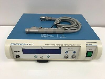 Dyonics EP. 1 Endoscopic Powered Instrument System with 72200616 Shaver