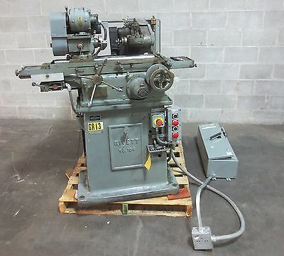 Rivett Lathe Small Hole Cylindrical Concentric Grinder Co 104-2 w/ A-B Starter