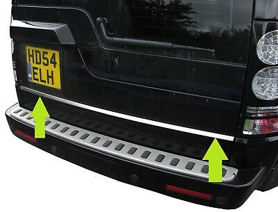 Land Rover Discovery 3&4 Stainless rear door chrome tailgate trim luxury HSE