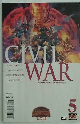 Civil War # 5 VF Marvel 2015 Secret Wars Free Combined Shipping!