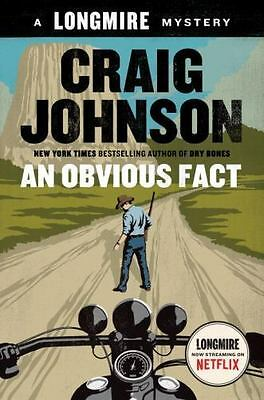 (NEW) An Obvious Fact 12 by Craig Johnson (2016, Hardcover) A Longmire Mystery