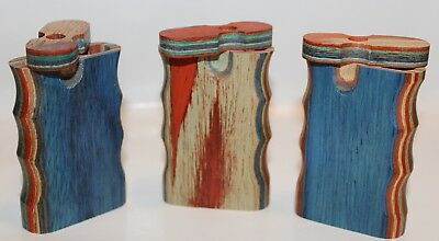 Small Wooden Dugout with metal bat or cig. Assorted Designs, Buy 3 Get 1 Free