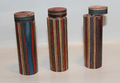 Round Wooden Dugout With Metal Bat Or Cig, Assorted Designs, Buy 3 Get 1 Free