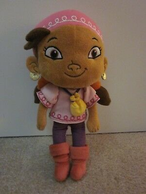 "Disney Store Jake & the Never Land Pirates Izzy 12"" Plush Soft Doll"