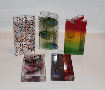 Acrylic Dugout With Metal Bat Or Cigarette, Assorted Designs, Buy 3 Get 1 Free