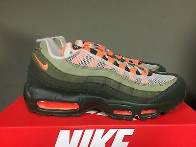 air max 95 olive green and orange