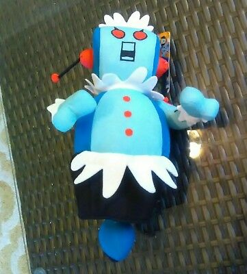 """Rosie The Jetsons Robot NWT Sugar Loaf  Plush 12"""" Factory error: marked Astro"""