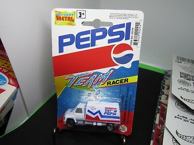 "1993 GOLDEN WHEEL Vintage Pepsi Team Racer Die- Cast ""FUEL TRUCK"""