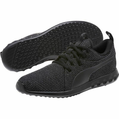 8be9b8e245411a Puma Carson 2 Nature Knit 19052201 All Black Mens Womens Running Shoes  Sneakers