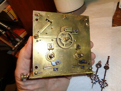 Antique-German-RA Vienna Regulator Clock Movement-Ca.1900-To Restore-#P377
