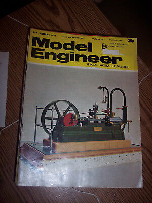 1974 Model Engineer magazine- has complete Quorn tool & cutter grinder build