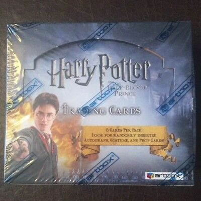 ArtBox Harry Potter and the Half-Blood Prince Hobby Box Sealed #0711/7000