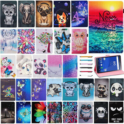 AU For Samsung Galaxy Tab A 8.0 2017 T380 T385 Tablet Case Flip PU Leather Cover