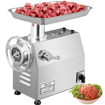 800W Commercial Meat Grinder Mincer Sausage Stuffer powerful 170r/min Automatic