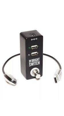 The Bright Switch - USB Pedal Board / Utility Light by Rock Stock Pedals