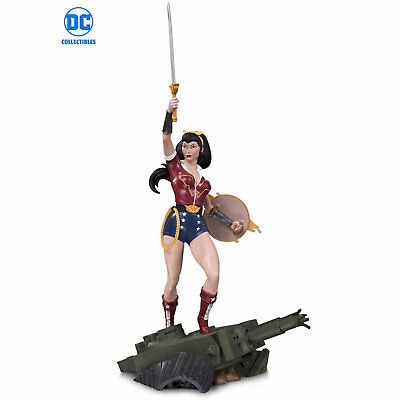 DC Bombshells Wonder Woman Deluxe Statue by DC Collectibles 2018