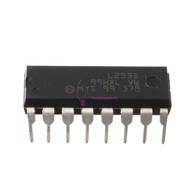 10Pcs L293D L293 L293B DIP/SOP Push-Pull Four-Channel Motor Driver IC