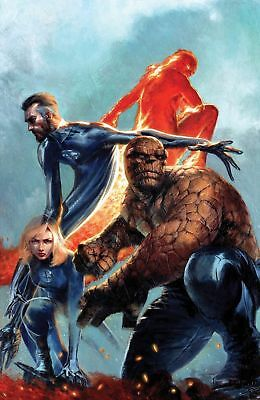 Fantastic Four #1 Dell'otto 2 Pack Virgin Variant Set Marvel Comics New Villain