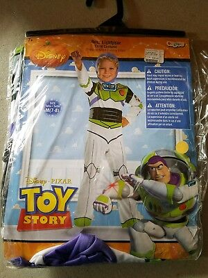 O NEW Child Disguise Disney Buzz Lightyear Halloween Costume Size M