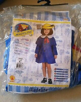 O NEW Child Rubies Madeline Halloween Costume Size M