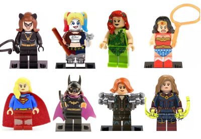4Pc Marvel Avengers Super Hero  Mini Figures DC Minifigure Gift Fits Lego party