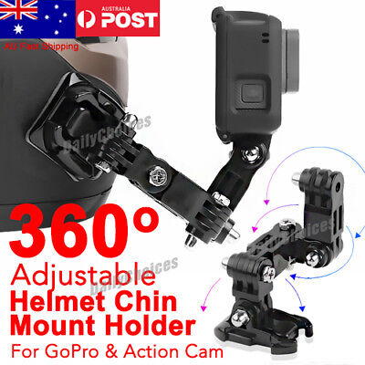 Helmet Front Mount Chin Mount Holder For GoPro Hero6/5/4 XiaoYi Action Camera