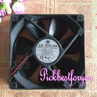 1PC U.S. TOYO FAN USTF1202524MW 24V 0.30A 12025 Inverter Cooling Fan #M98A QL