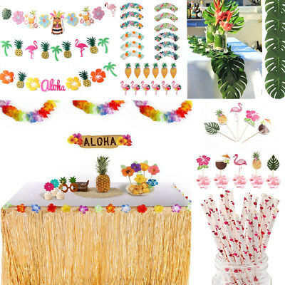 Hawaiian Tropical Sommer Beach Party Set Supply hängen Dekor Bunting Banner