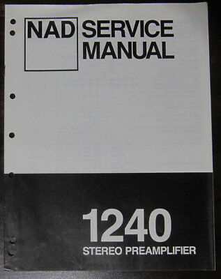 nad 2140 power amplifier service repair workshop manual original rh picclick co uk nad 2140 owners manual New York 2140