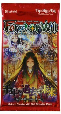Force of Will The Millennia of Ages Booster Pack Sealed