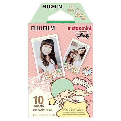 1 Pack 10 Photos Little Twin Stars FujiFilm Fuji Instax Mini Film Polaroid SP-2