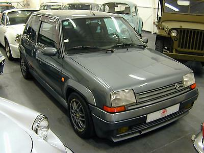Renault 5 Gt 1.4 Turbo - Lhd - Time Warp Car! - Collector Quality!